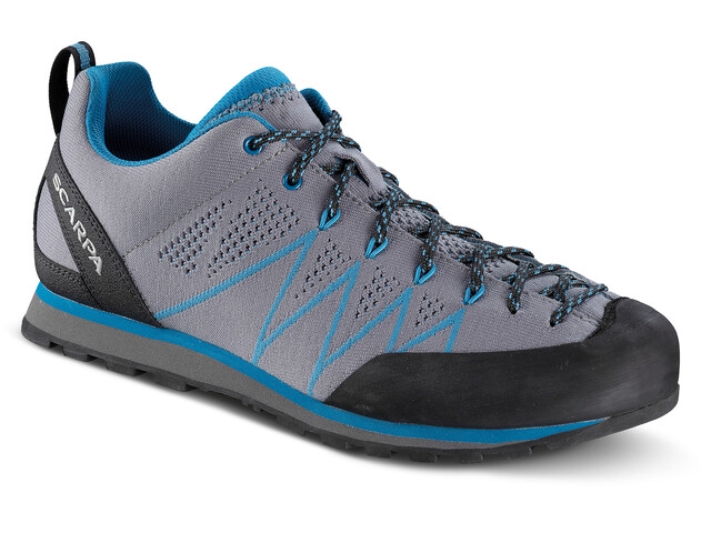 Scarpa Crux Air Shoes Men smoke-lake blue